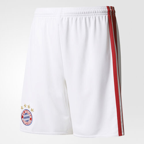 adidas - FC Bayern München Home Replica Shorts White/True Red AI0060