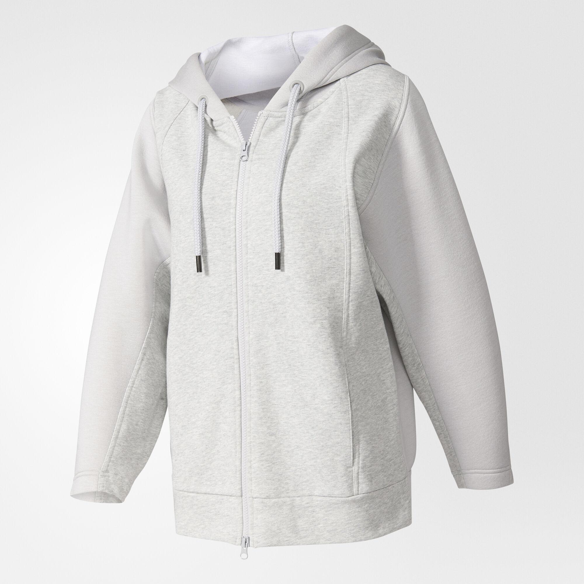 adidas - Essentials Hoodie Cool Grey Melange/Lgh Solid Grey BQ0774