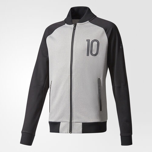 adidas - Messi Track Jacket Medium Grey Heather/Black CE9315