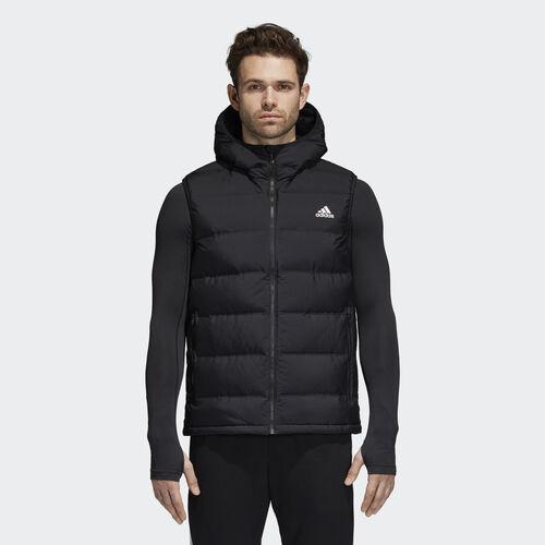 adidas - Helionic Hooded Down Vest Black BQ2006