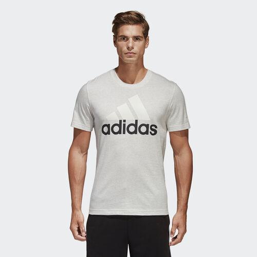 adidas - Camiseta Essentials White Melange B47357