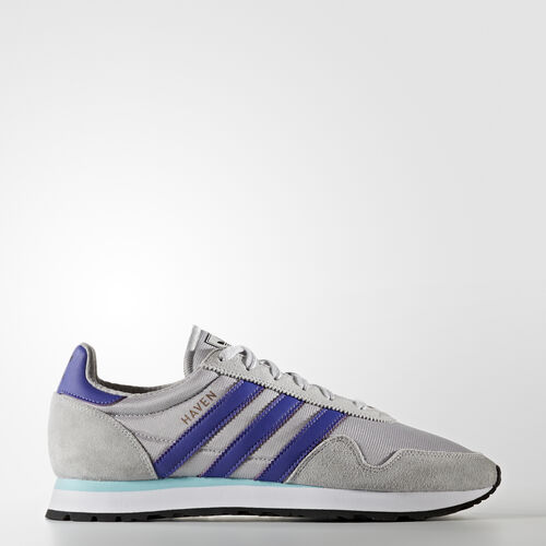 adidas - Haven Schuh Lgh Solid Grey/Purple/Clear Aqua BB1287