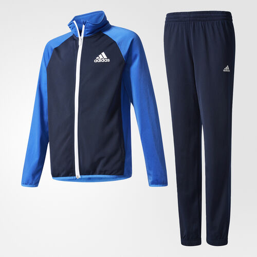 adidas - Boys Tracksuit Entry Closed Hem Collegiate Navy/Blue/ White AX6328