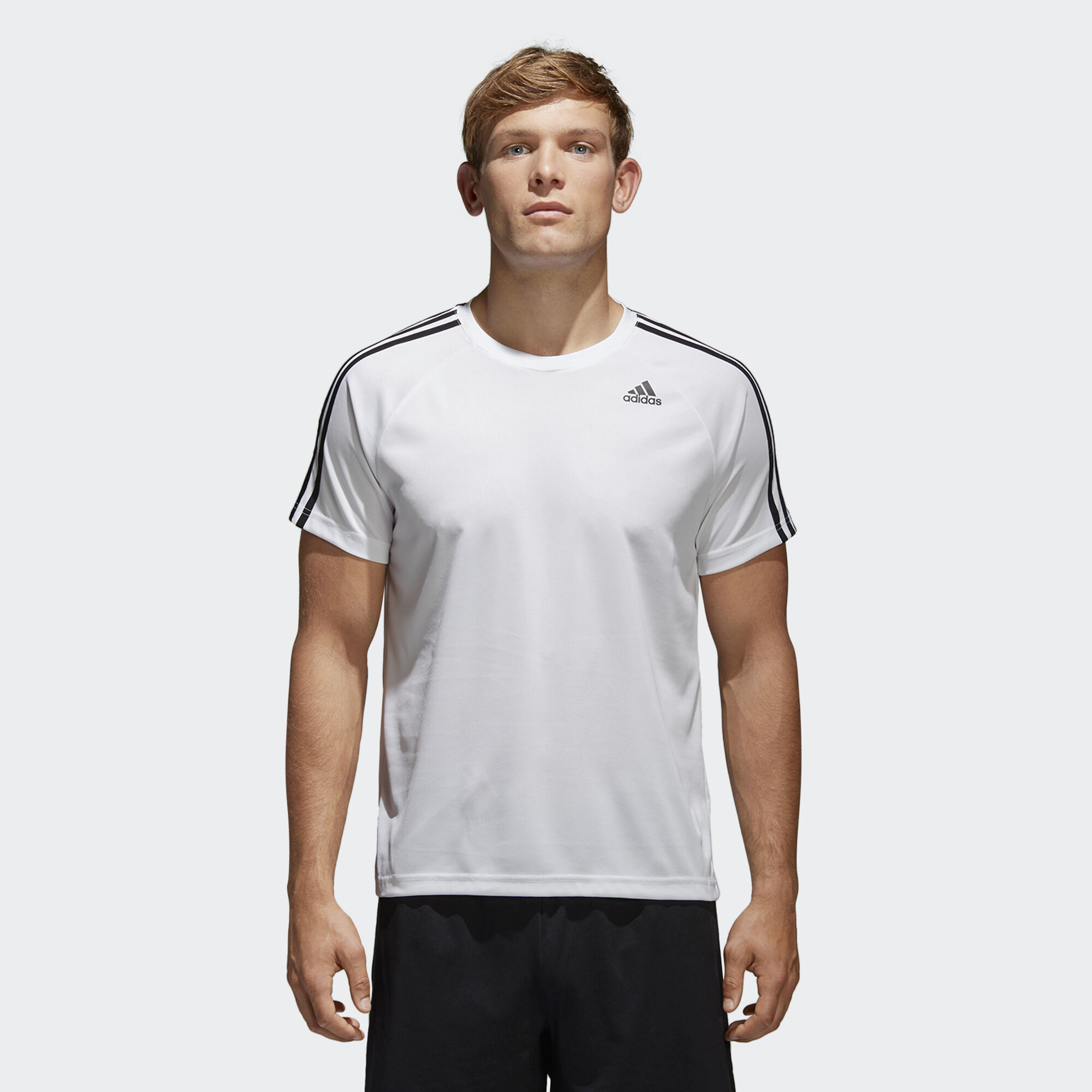 adidas t-shirt 3 stripes