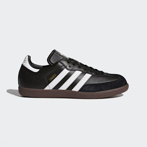 adidas - Samba Leather Shoes Black/Footwear White 019000