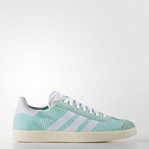adidas - Gazelle Primeknit Shoes Easy Green/Footwear White/Chalk White BB5210