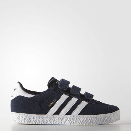adidas - Gazelle 2.0 Shoes Collegiate Navy/White B24638