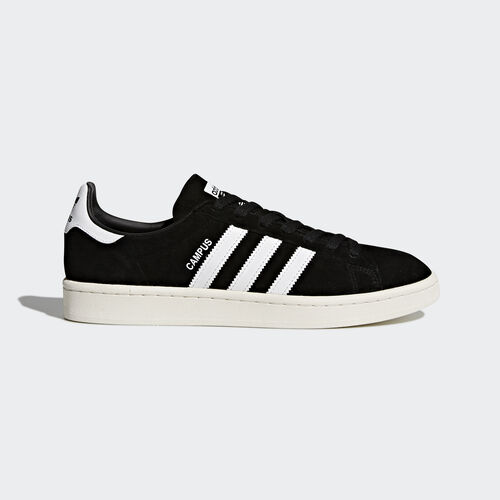 adidas - Campus Schoenen Core Black/Footwear White/Chalk White BZ0084