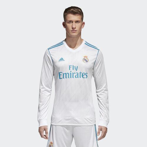 adidas - Real Madrid Home Replica Jersey White/Vivid Teal B31106