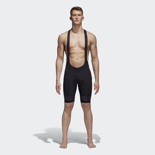 adidas - adistar Engineered Bib Shorts Black / Black Reflective-Y3 AZ4761