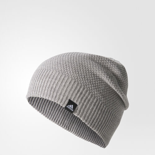 adidas - Classic Reversible Beanie Medium Grey Heather/Black/White BR9996