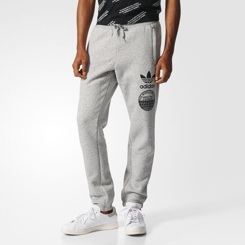 adidas - Street Graphic Sweat Pants Medium Grey Heather BP8934