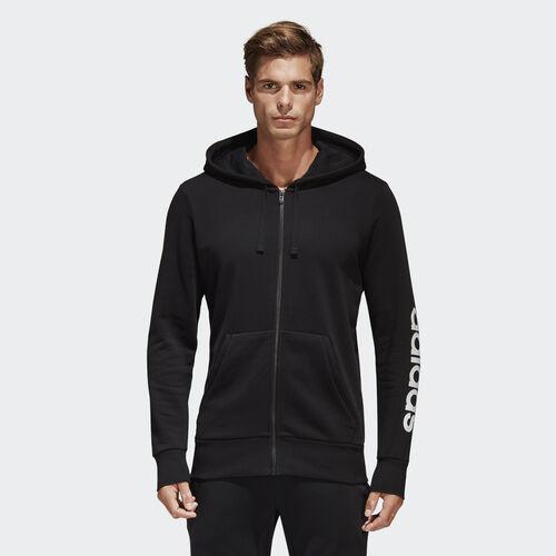 adidas - Camisola com Capuz Linear Essentials Black S98796