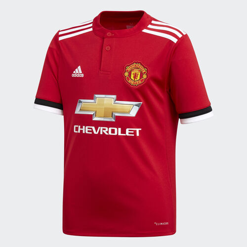 adidas - Manchester United Home Replica Jersey Real Red /White/Black AZ7584