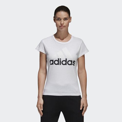 adidas - Camiseta Linear Essentials White S97214