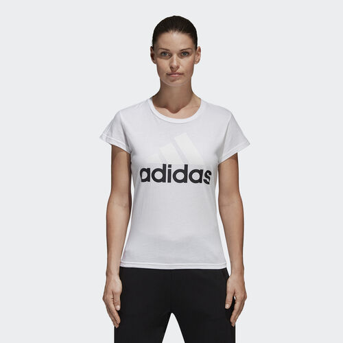 adidas - Tričko Essentials Linear White S97214