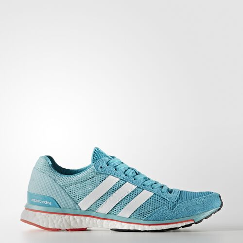 adidas - adizero Adios 3 Shoes Energy Blue/Footwear White/Easy Mint BB1710