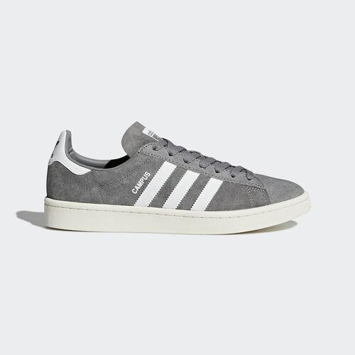 adidas - Zapatilla Campus Grey Three /Footwear White/Chalk White BZ0085