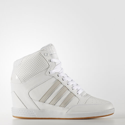 adidas - Zapatilla Super Wedge Footwear White/Pearl Grey AW3968