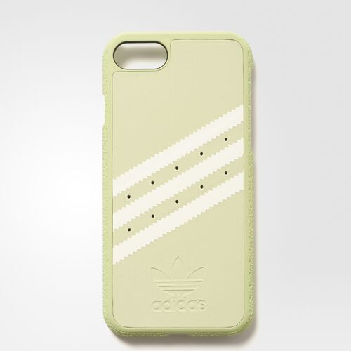 adidas - Moulded Case iPhone 7 Suede Vapour Green / White BI8050