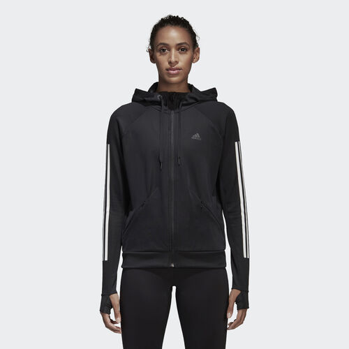 adidas - Performance Kapuzenjacke BLACK BK7675
