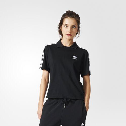 adidas - 3-Stripes Polo Tee Black BJ8171