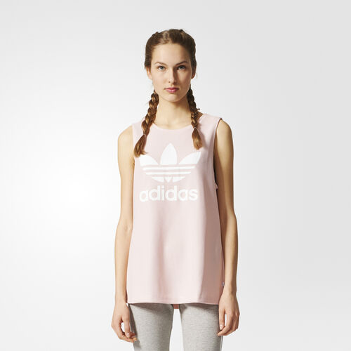 adidas - Tílko Trefoil Icey Pink BP9383