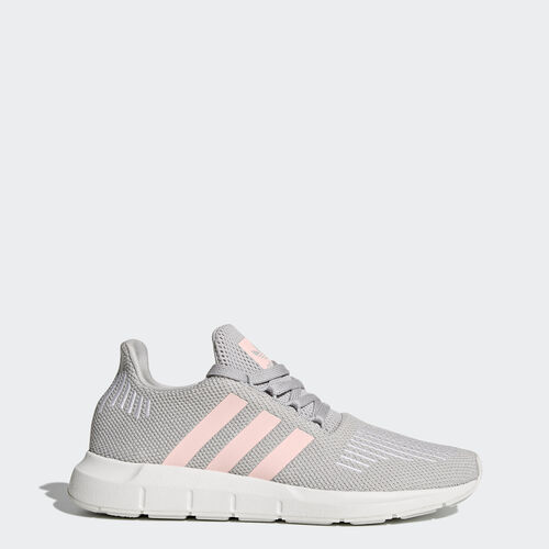 adidas - Swift Run Shoes Grey Two /Icey Pink /Footwear White CG4140
