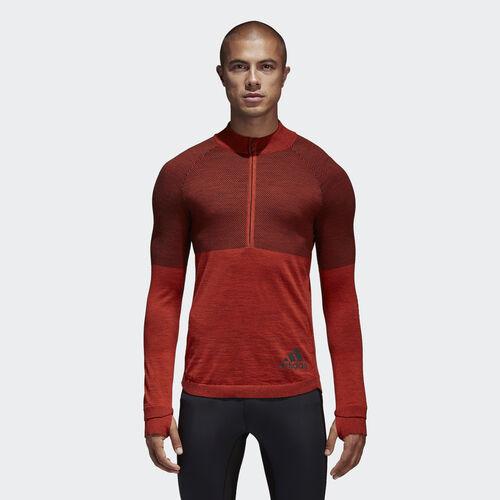 adidas - Climaheat Primeknit Sweatshirt Energy/Black BQ9345