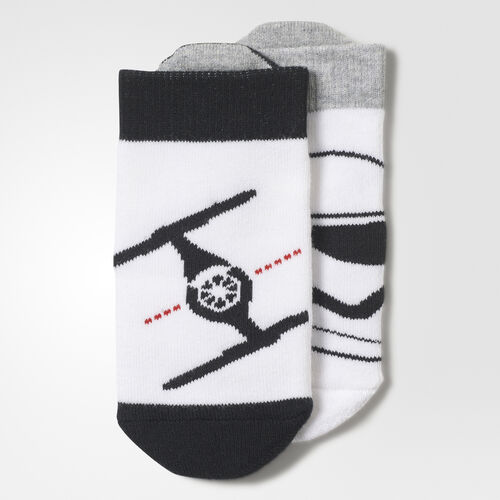 adidas - Star Wars Socks 2 Pairs White/Black/Scarlet/Medium Grey Heather BP7825