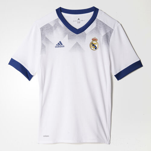 adidas - Real Madrid Home Replica Pre-Match Jersey White/Raw Purple BP9172