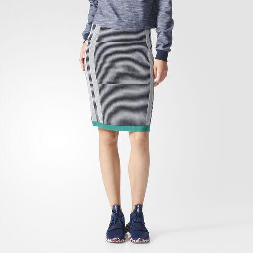 adidas - High-Waisted Skirt Black/Grey BK2267