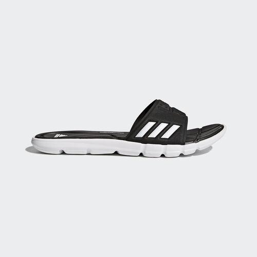 adidas - Chinelos Cloudfoam AdiPure Core Black/Footwear White BB4558