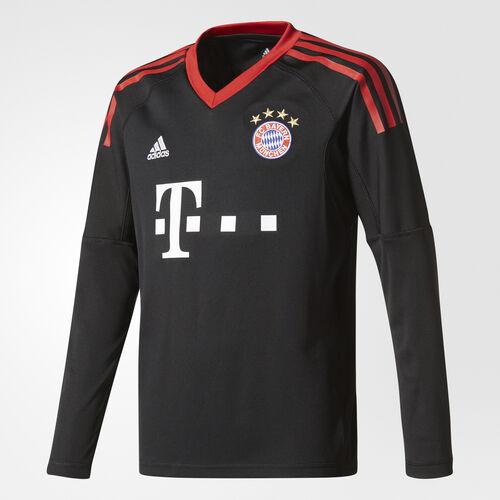 adidas - FC Bayern Munich Replica Goalkeeper Jersey Black/Fcb True Red/White AZ7945