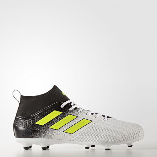 adidas - ACE 17.3 Firm Ground Boots Footwear White/Solar Yellow/Core Black BY2196