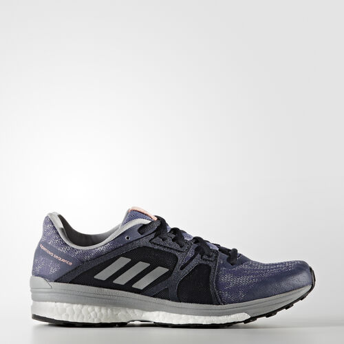 adidas - Supernova Sequence 9 Shoes Super Purple/Silver Metallic/Mid Grey BB1617
