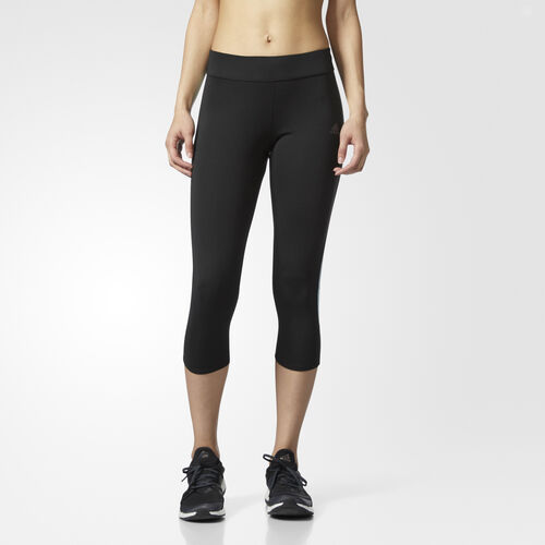 adidas - Tight Response 3/4 Black/Energy Aqua BQ3569