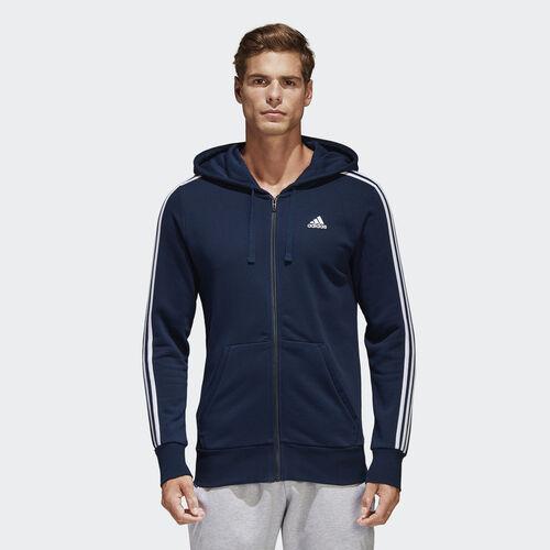 adidas - Essentials 3-Stripes Hoodie Collegiate Navy/White S98787
