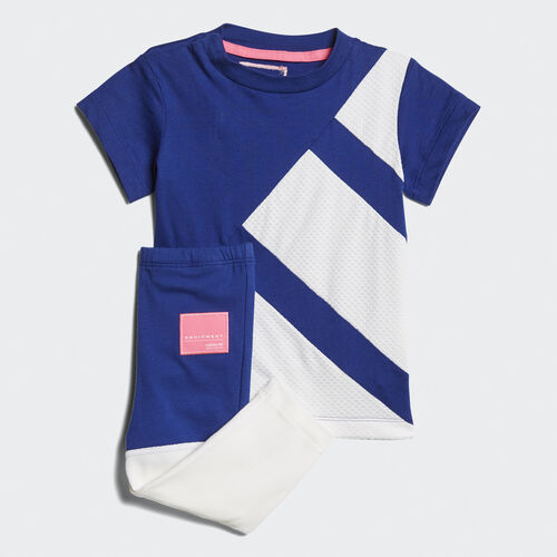 adidas - EQT Tee and Leggings Set Mystery Ink /White BQ4355