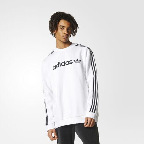 adidas - Linear Trefoil Sweatshirt White BR4229