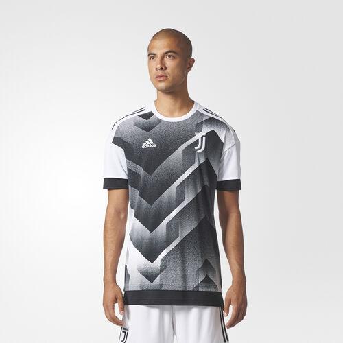 adidas - Juventus Home Pre-Match Jersey White/Black BS2600