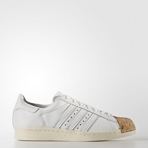 adidas - Superstar 80s Schoenen Footwear White/Off White BA7605