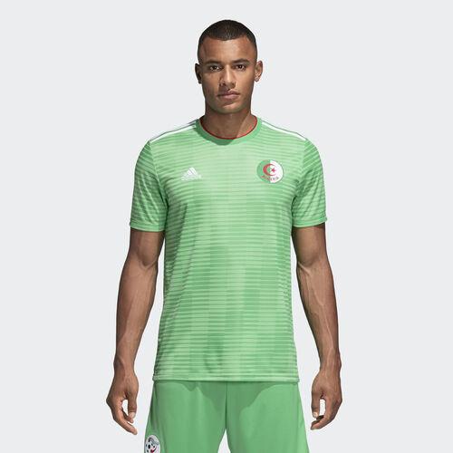 adidas - Camisola Alternativa da Argélia Semi Flash Green/White/Red CF4038