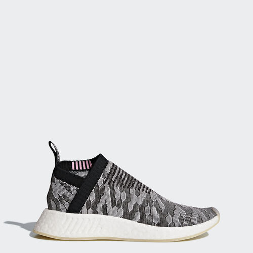 adidas - NMD_CS2 Primeknit Shoes grey/Core Black/Core Black/Wonder Pink BY9312
