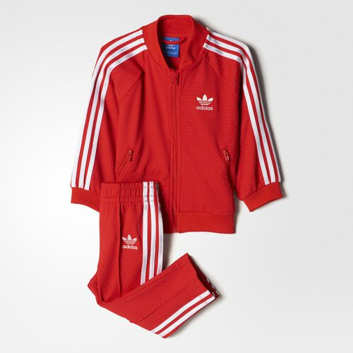 adidas - SST Track Suit Core Red/White BJ8458
