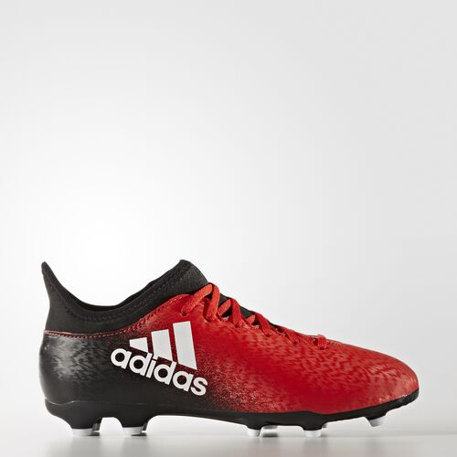 adidas - X 16.3 Firm Ground Boots Red/Footwear White/Core Black BB5694