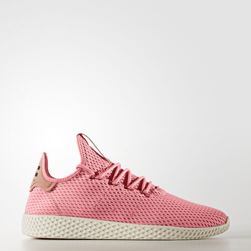 adidas - Pharrell Williams Tennis Hu Shoes Tactile Rose /Tactile Rose /Raw Pink BY8715