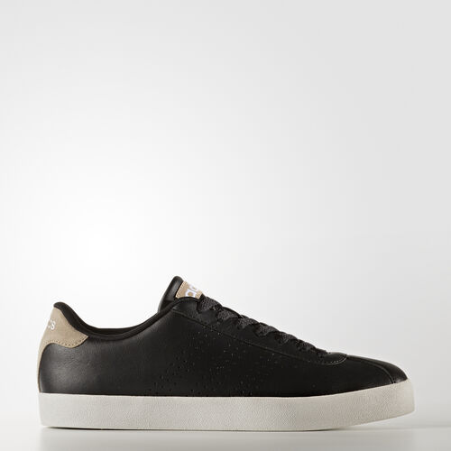 adidas - VL Court Vulc Schoenen Core Black/Trace Khaki BB9637