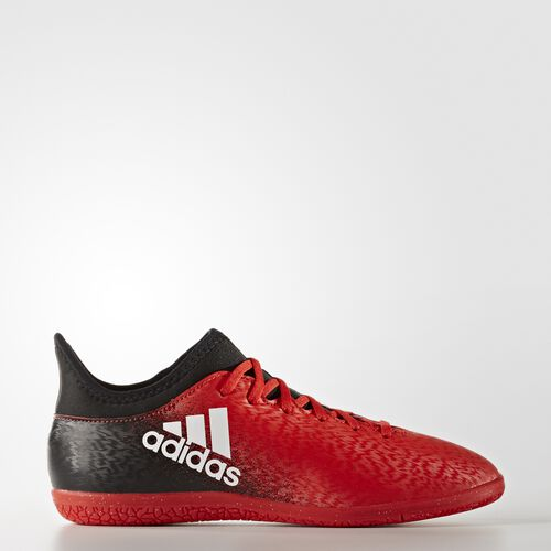 adidas - X 16.3 Indoor Boots Red/Footwear White/Core Black BB5718