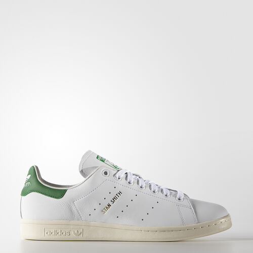 adidas - Buty Stan Smith Shoes Footwear White/Green S75074